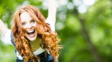 Alfa eCare - happy woman