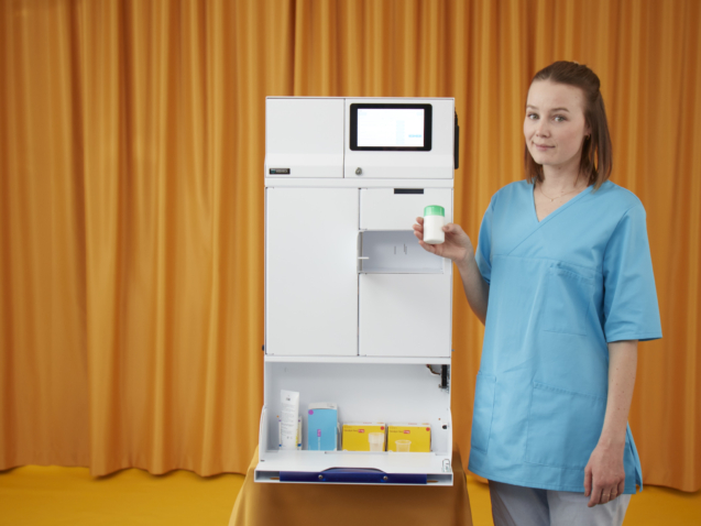 MEDDIBOX - Alfa eCare medicinskåp