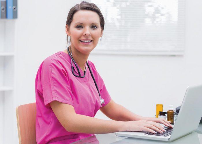 Alfa eCare SignIt sjuksköterska dator läkemedel